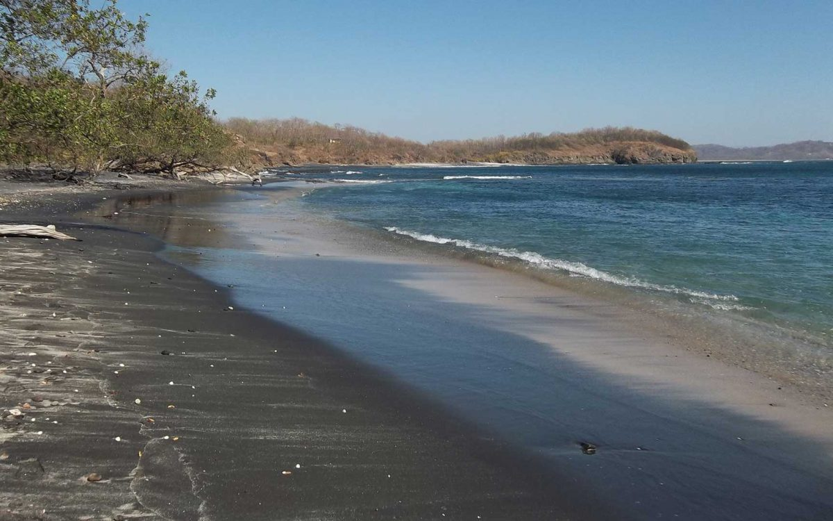 Playa Carbon Is A Fierce Black Sand Beach